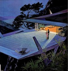 Dan Stiver's favorite photos and videos | Flickr #classic #illustration #architecture #60s