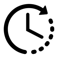 See more icon inspiration related to time, clock, process, wait, waiting, clockwise and interface on Flaticon.
