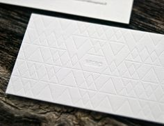 Nicely Embossed Brand Piece #graphics #identity