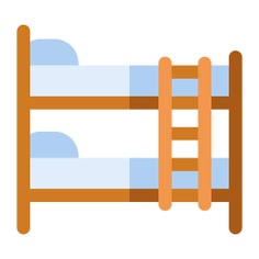 See more icon inspiration related to bed, rest, bunk, sleep, furniture and household, Berth, double bed and beds on Flaticon.