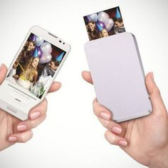 Ever imagined printing photos without using ink but heat? Check out ZINK, a portable zero ink printer which prints photos directly from your #technology #product #design #industrial