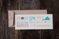 Kristen and Loren Wedding Invitation #type #wedding invitation