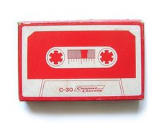 C-30 Compact Cassette #tape #cassette #design #graphic #illustration