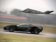 Aggressive Lamborghini Ankonian Concept Car #lamborghini #ankonian
