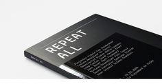 ps.2 arquitetura + design - Repeat All - Catálogo da Exposição #editorial