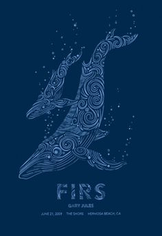 GigPosters.com - Firs - Gary Jules #screenprint #poster