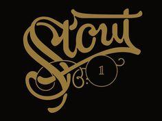 Stout01 #lettering