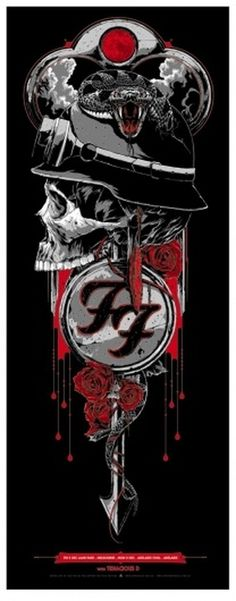 OMG Posters! #foo #fighters #concert #poster