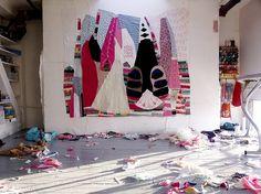 remains | Flickr: partage de photos! #textile #art