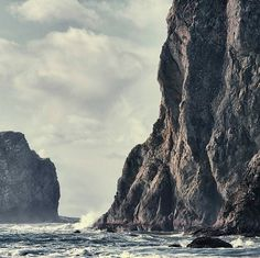 dear inspiration: moody #photo #rock #landscape #cliff #photography #sea