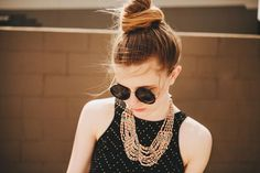 Photography by Bethany Marie (31) #gold #photography #sunglasses #girl