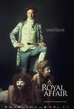 Extra Large Movie Poster Image for En kongelig affære (#7 of 8)