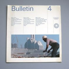 Design by Otl Aicher and Rolf Müller #otl #design #graphic #aicher #olympics