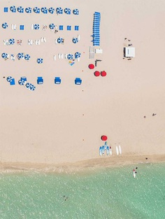 Aerial Views of Miami by Bernhard Lang