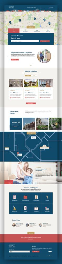 Prickett & Ellis #Rebrand #BrandIdentity #Inspiration #WebDesign