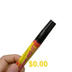 Fix #It! #Pro #Car #Paint #Pen #/ #Car #Touch #Up #Pen #/ #Car #Scratch #Repair #Pen, #Aluminum #Tube #OPP #- #TRANSPARENT