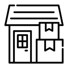 See more icon inspiration related to shipping and delivery, warehouses, factories, stocks, warehouse, delivery, storage and buildings on Flaticon.
