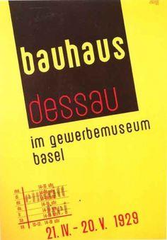 Bauhaus_poster.jpg 457×658 pixels #poster #bauhaus