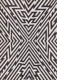 Matthew Craven FRGMNTS, Gallery Hijinks SF REDEFINE magazine #white #pattern #black #poster #and #collage