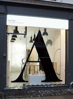 Dezeen » Blog Archive » Playtype foundry and concept store by e-Types