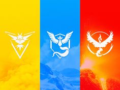 Pokémon GO Team Logos [Vector Download] by Meritt Thomas