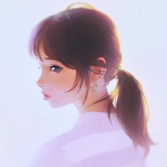 Gorgeous Character Illustrations by Ilya Kuvshinov