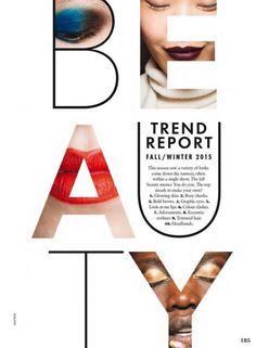 Amazing Magazine Layout Design – Beauty