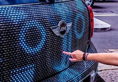 NORCAL MINIS: A Behind The Scenes Look At MINI Art Beat Illumination #interactive #car #led