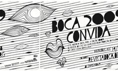 Revista Boca 2 on the Behance Network #visual #design #illustration #poster #art #type #typography