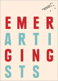 UAL Emerging Artists : DAVID PRESTON STUDIO #preston #cover #studio #booklet #david