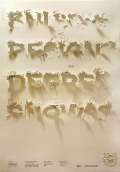 boyeonchoi #cut #text #white #shadow #type #paper #typography
