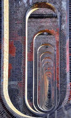 CJWHO ™ (Through the arches of the Balcombe viaduct....) #texture