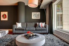 apartment, interior design, living room