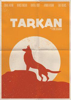 Minimal Turkish movie posters on Behance #turkish #flyer #minimal #poster