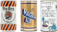 Beer on Cool Hunting #vintage #type #label #beer #weathered