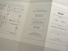 Ned_ #typography #letterpress #invitation