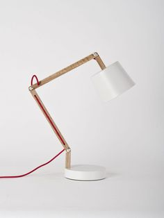 Angle Table Lamp 2.0 - Douglas + Bec #lamp