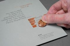 Copper foiling #coin #invite #copper #foil