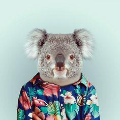 Fashion Zoo Animals25 #totem