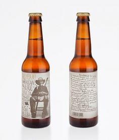 Au Yeah!   Lovely Package #milongo #beer #bottle #packaging #au #yeah #estudio