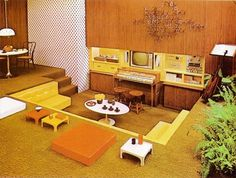 WANKEN - The Blog of Shelby White » The Interiors of Mid-Century Modern #interior #modern #design #living #vintage #1970s #midcentury #room