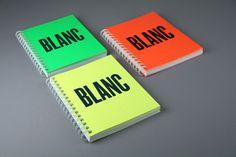 Forma & Co — Blanc. Festival de Disseny Gràfic de Catalunya #notebook