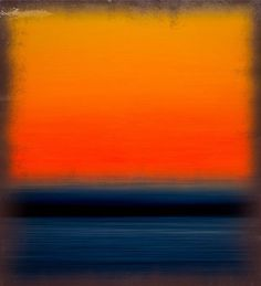colour, rothko, orange, contrast