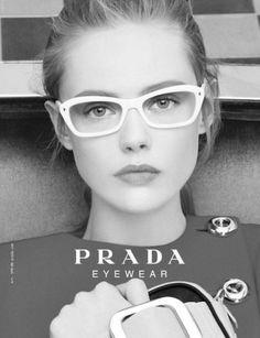 Sara Lindholm #eyewear #prada