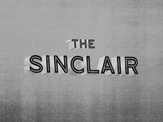 The Sinclair Branding #logo #branding