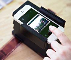 Smartphone Film Scanner #gadget
