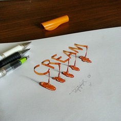 Incredible 3D Calligraphy and Lettering of Tolga Girgin