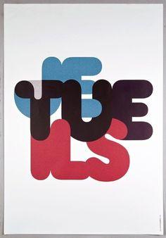 les graphiquants - typo/graphic posters #tue #je #ils