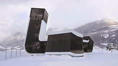 Airport Building by Jürgen Mayer in Mestia, Georgia