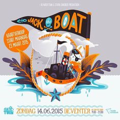 Jack the boat by Studio Wonder #wonder #illustration #studio #party